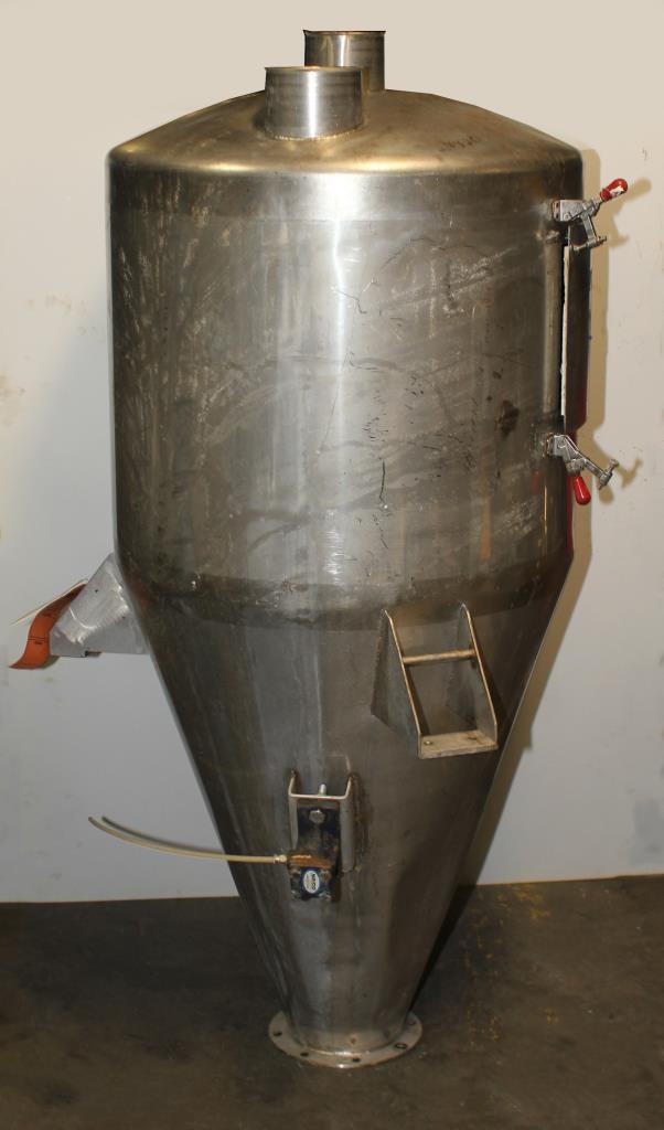Bin Hopper Silo 10.42 cu.ft., bulk storage bin, Stainless Steel3