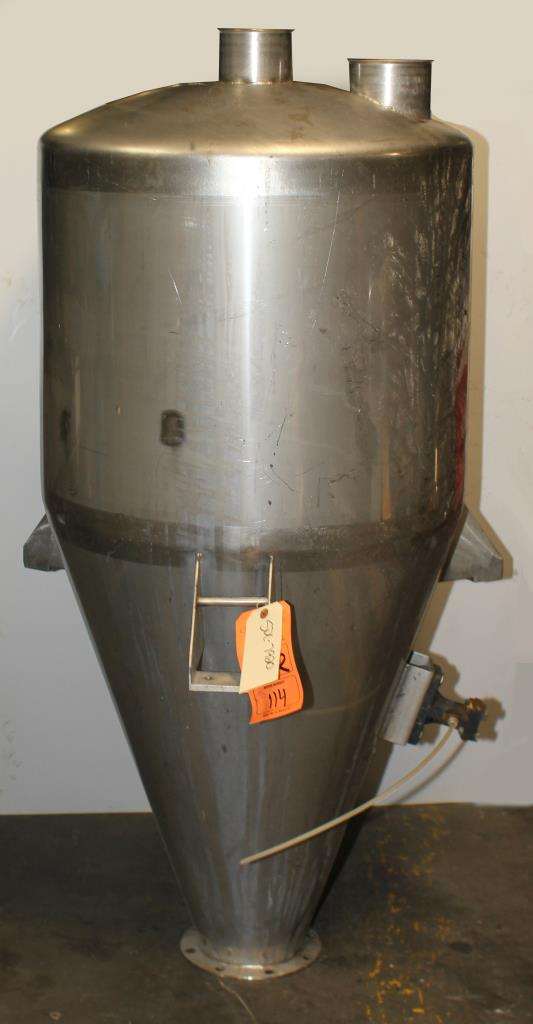 Bin Hopper Silo 10.42 cu.ft., bulk storage bin, Stainless Steel4