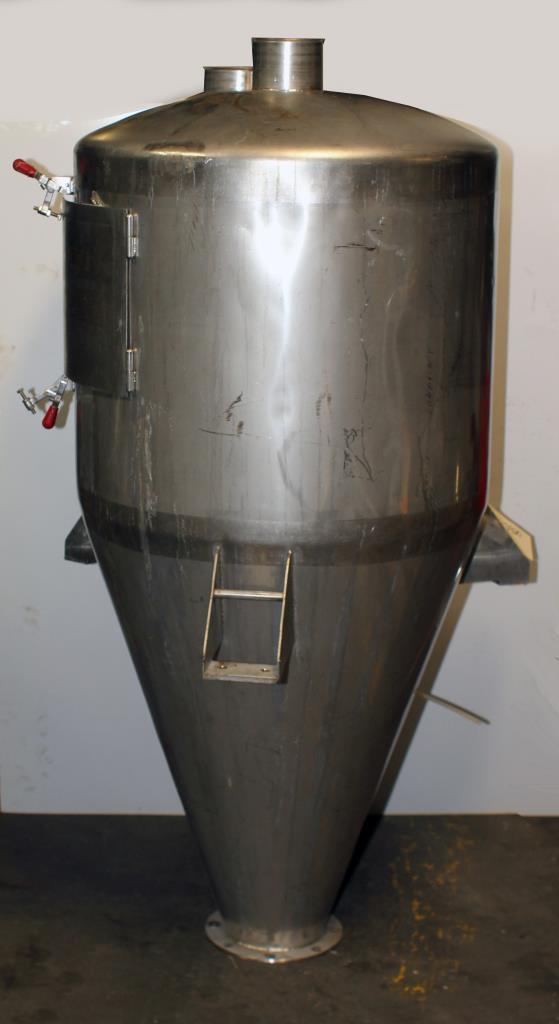 Bin Hopper Silo 10.42 cu.ft., bulk storage bin, Stainless Steel5