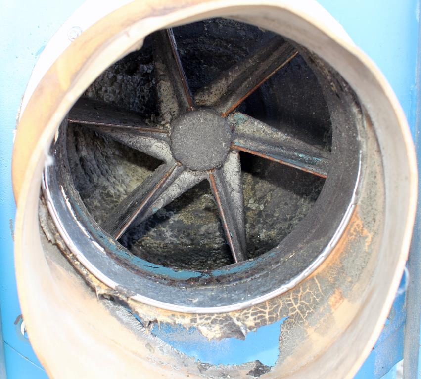 Blower up to 4752 cfm centrifugal fan Twin City Fan & Blower model Size 911, 20 hp, CS5