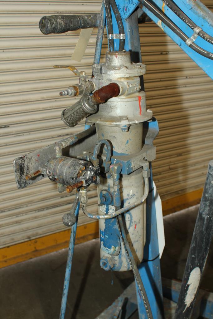 Material Handling Equipment drum dumper, 800 lbs. Morse model 400AM-72-114, 725