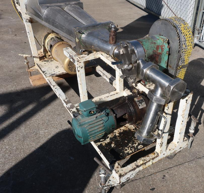 Pump 3 inlet Tri Clover positive displacement pump model PR 25-3TC1, 1 hp, Stainless Steel4