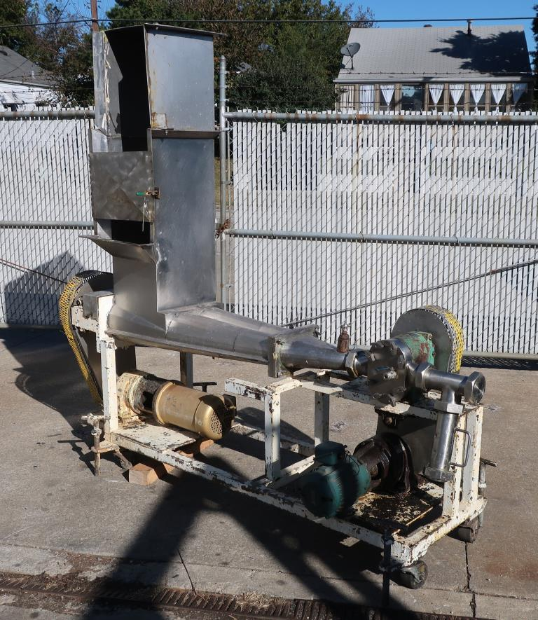 Pump 3 inlet Tri Clover positive displacement pump model PR 25-3TC1, 1 hp, Stainless Steel7