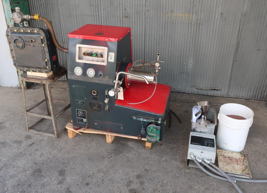Mill Premier horizontal media mill model ML 1.5, 1.5 liter, Stainless Steel Contact Parts1