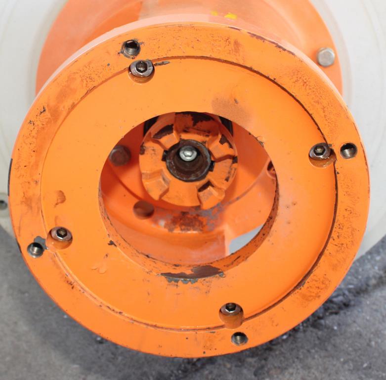 Pump 50x32x230 mm Munsch Chemie-Pumpen vertical centrifugal pump model TNP-KL 50 32-200, Polypropylene3