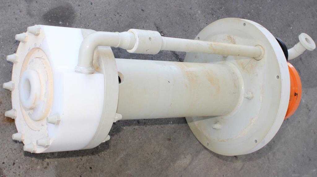 Pump 50x32x230 mm Munsch Chemie-Pumpen vertical centrifugal pump model TNP-KL 50 32-200, Polypropylene4