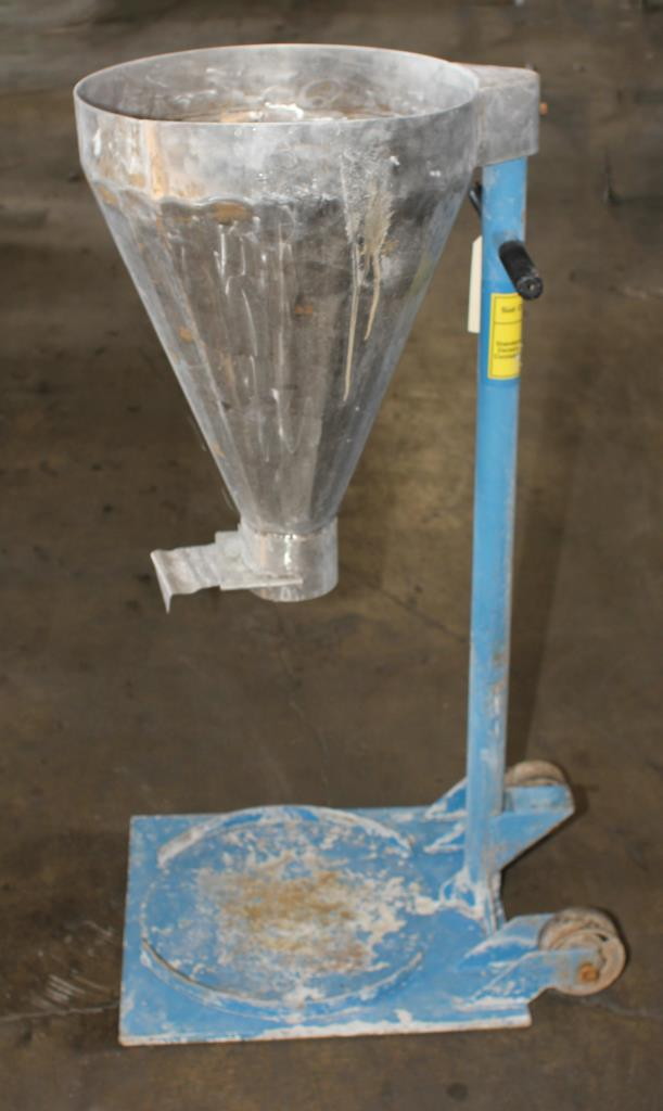 Miscellaneous Equipment Portable filling cart, Stainless Steel2