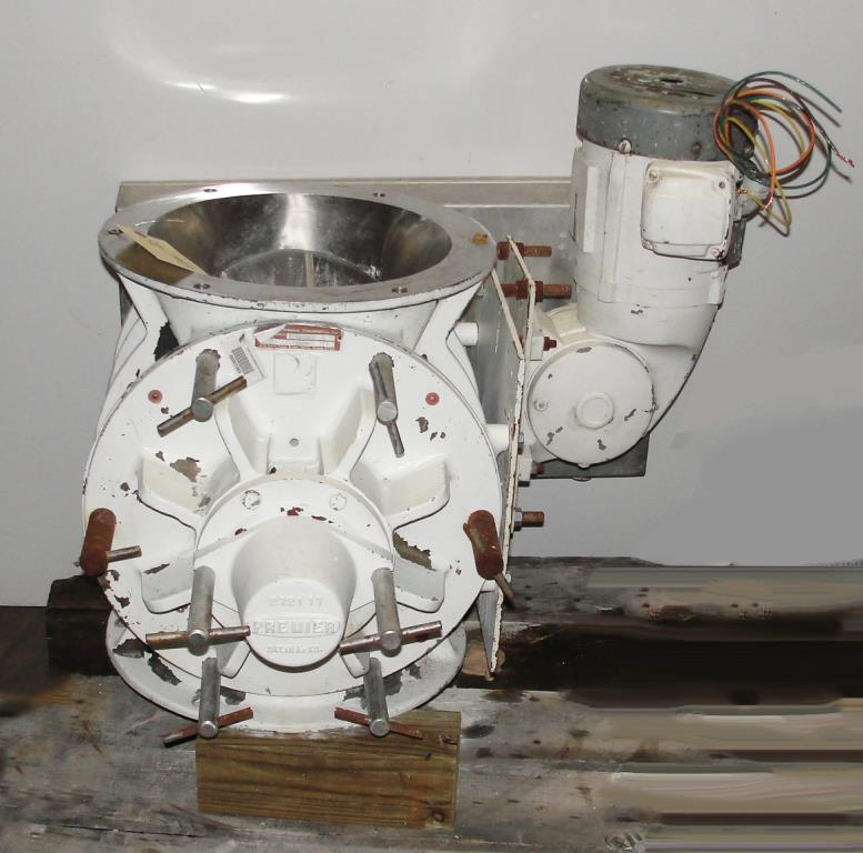 Valve 12 Stainless Steel Premier Pneumatics Inc. rotary airlock feeder model QDCRGG13124