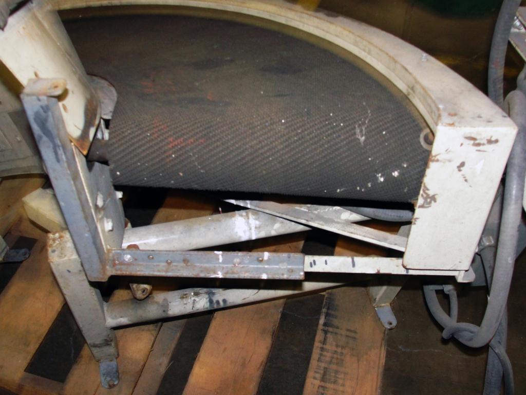 Conveyor PORTEC belt conveyor model AA2214, CS8
