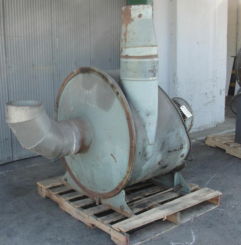 Blower 1430 cfm centrifugal fan Spencer Vaccum Producer model 35 X 20 Cat No., 25 hp, CS2