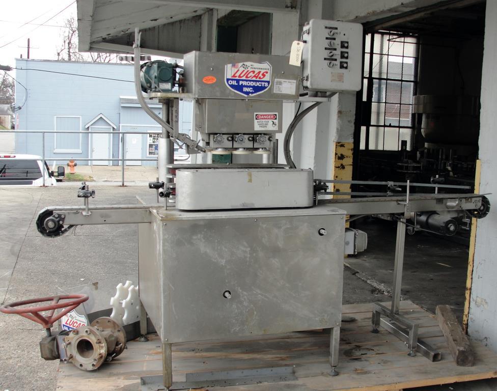 Capping Machine inline capper model 3400, 40 mm1