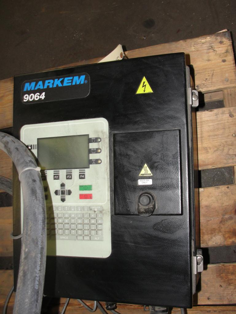 Coder Markem ink-jet coder model 9064, 1 print heads, Up to 680 ft./min1