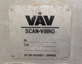 Conveyor VAV Scan - Vibro vibratory conveyor Stainless Steel, 16 dia x 148l3
