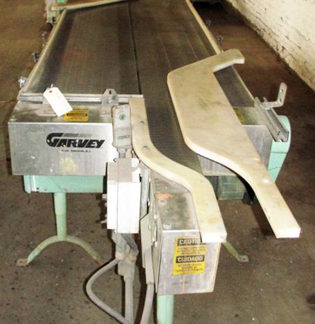 Accumulation Table 36w x 96l accumulation area Garvey rectangular flow thru accumulation table model 4700 CS4