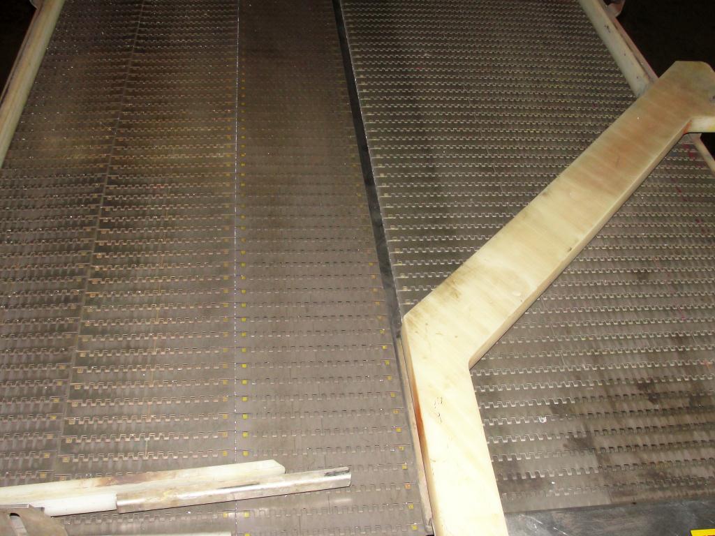 Accumulation Table 36w x 96l accumulation area Garvey rectangular flow thru accumulation table model 4700 CS5