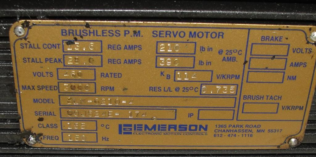 Miscellaneous Equipment Emerson model BLM-6210-4 CS2