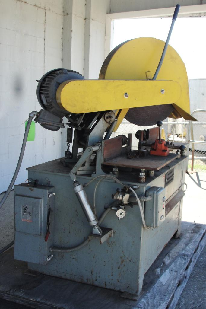 Machine Tool 16 Kalamazoo Industries abrasive cut off saw 7.5 hp1