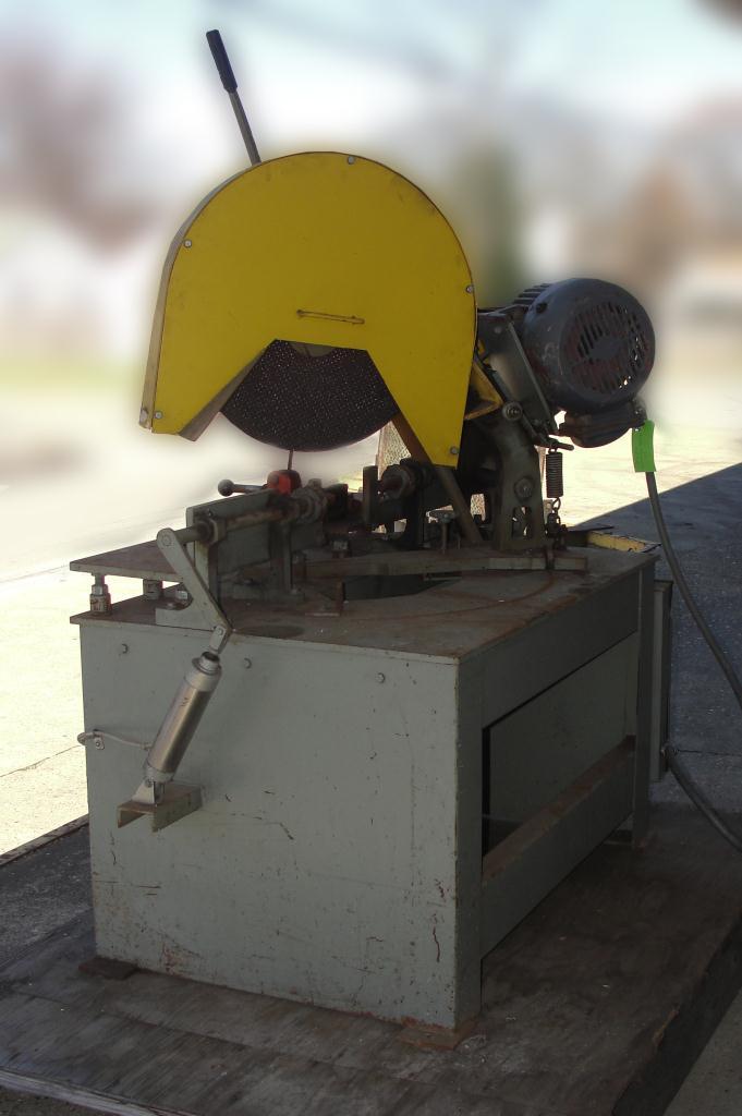 Machine Tool 16 Kalamazoo Industries abrasive cut off saw 7.5 hp3