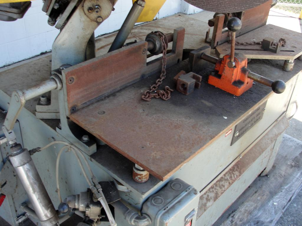 Machine Tool 16 Kalamazoo Industries abrasive cut off saw 7.5 hp6