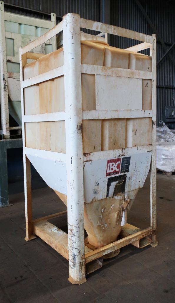 Bin 80 cu.ft., bulk storage bin, poly2