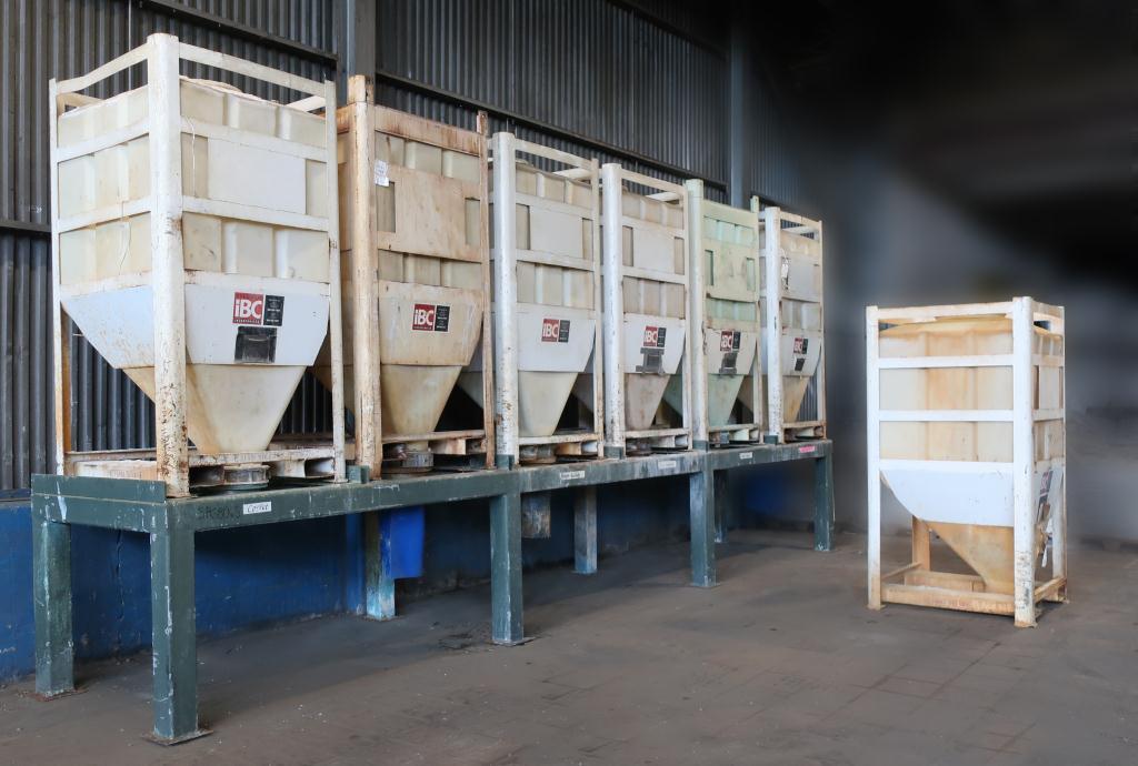Bin 80 cu.ft., bulk storage bin, poly7