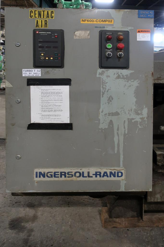 Compressor 250 hp Ingersol-Rand air compressor model CH5-18M1H, 1817 cfm4