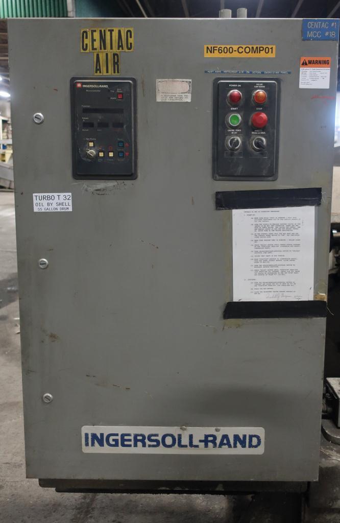 Compressor 250 hp Ingersol-Rand air compressor model CH5-18M1H, 1817 cfm4