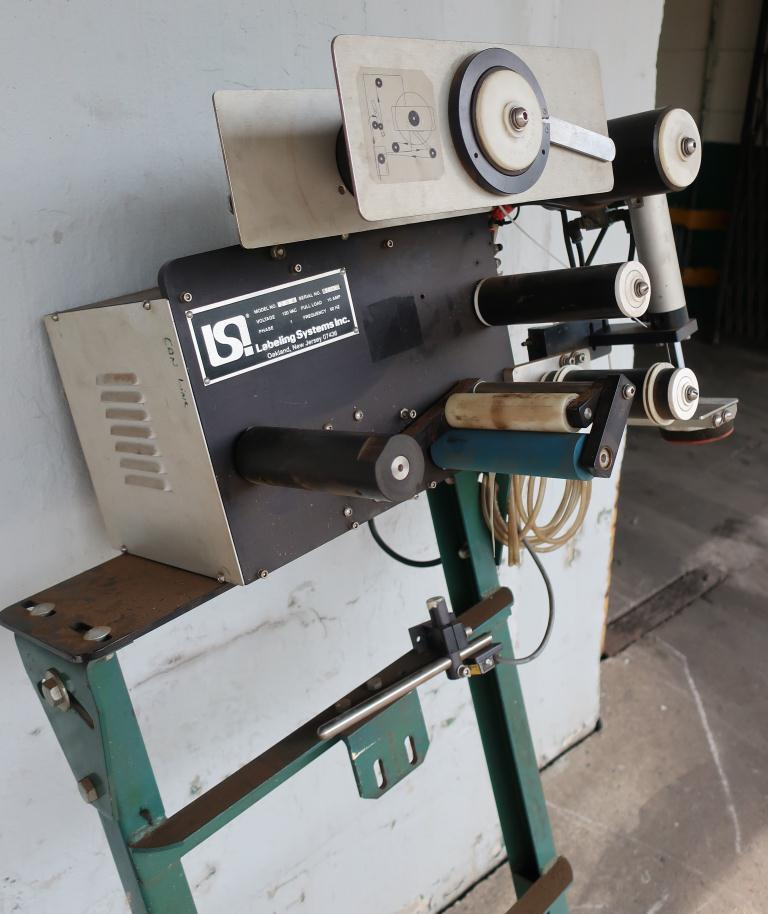 Labeler LSI Labeling Systems pressure sensitive labeler model 306, tamp on5