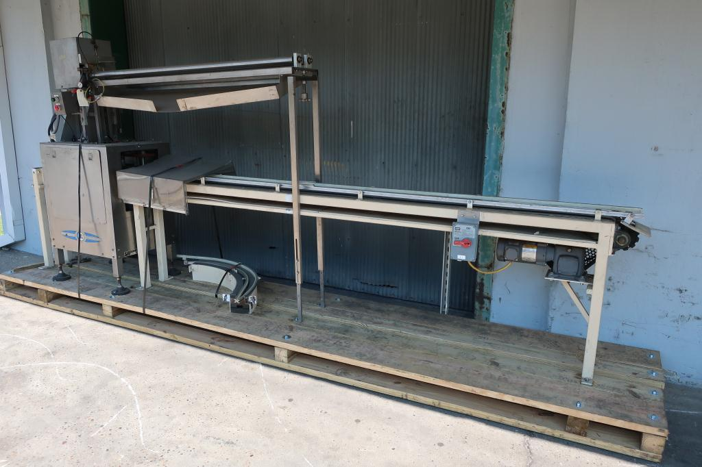 Capping Machine Del Packaging overcapper model SRC-SRH, 401 cans, up to 100 cpm2