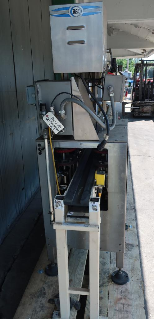 Capping Machine Del Packaging overcapper model SRC-SRH, 401 cans, up to 100 cpm4