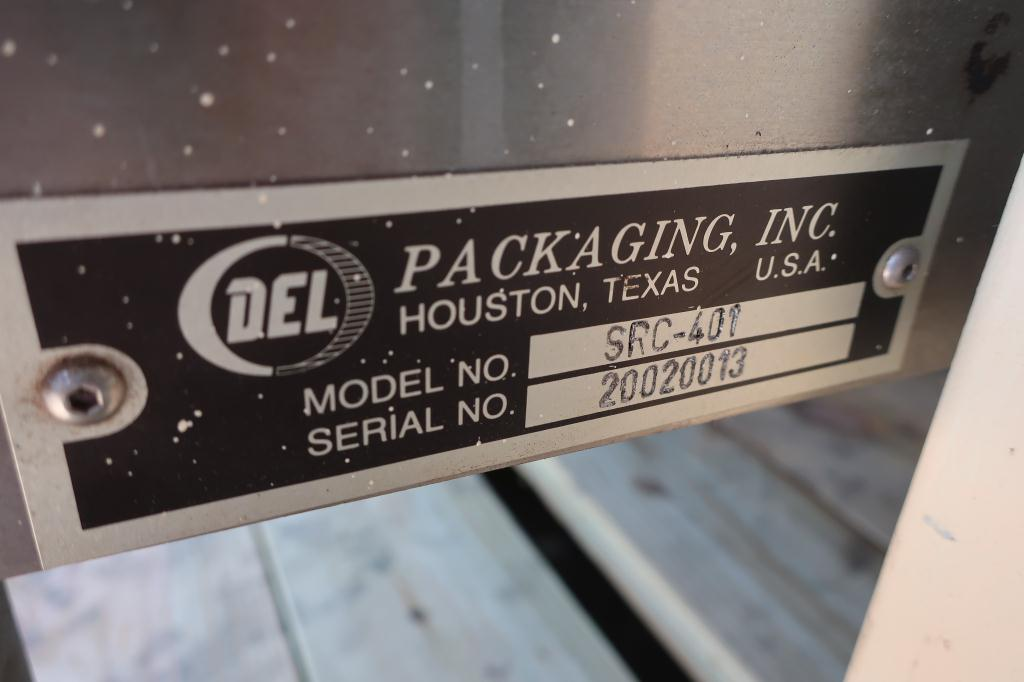 Capping Machine Del Packaging overcapper model SRC-SRH, 401 cans, up to 100 cpm6