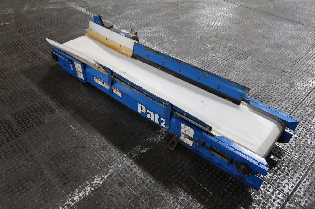 Conveyor Patz belt conveyor CS, belt length 83L  x 12 1/2 w1