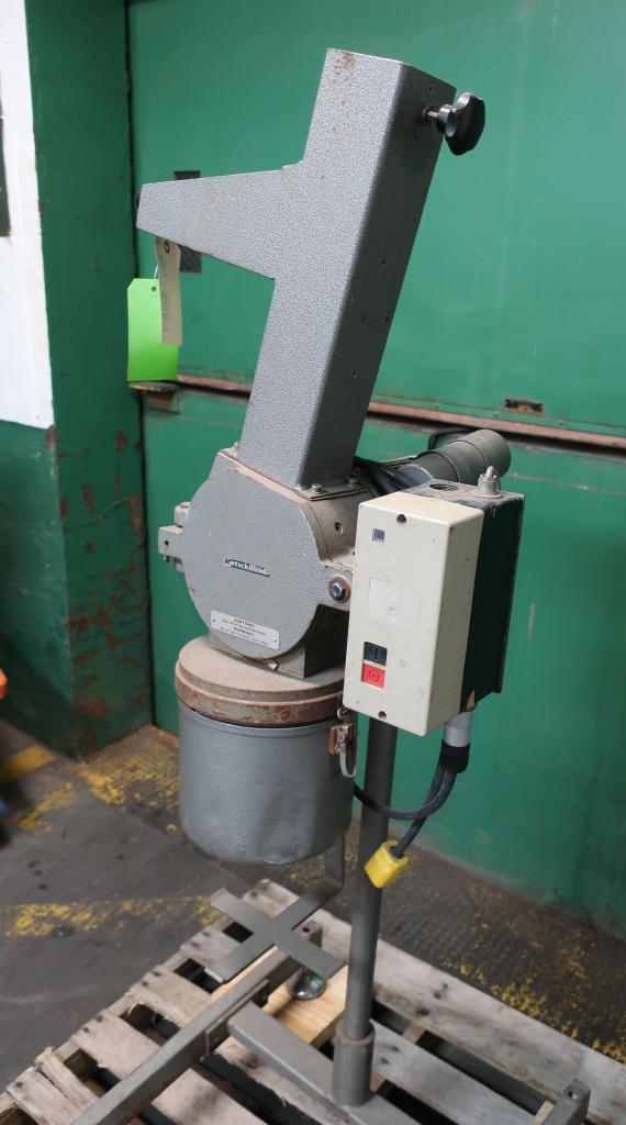 Mill Restch GmbH knife mill model SM1, CS, 2 hp, 3 1/4 x 3 1/4 throat size3