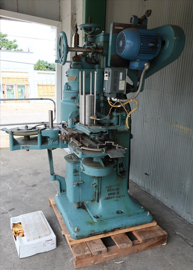 Canning Machine Canco can seamer model 422-IE, set up for 401 dia., up to 90 cpm3
