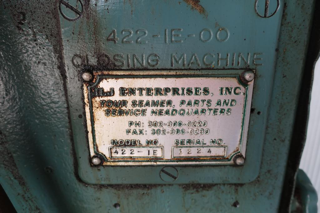 Canning Machine Canco can seamer model 422-IE, set up for 401 dia., up to 90 cpm8
