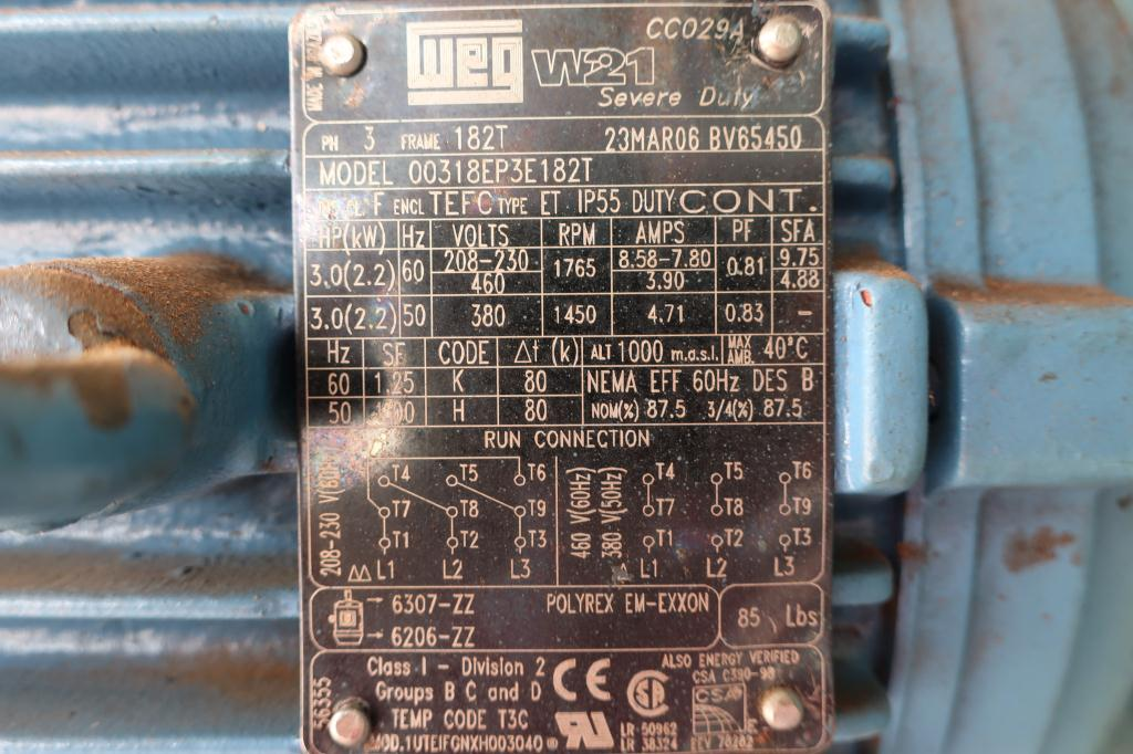 Canning Machine Canco can seamer model 422-IE, set up for 401 dia., up to 90 cpm9