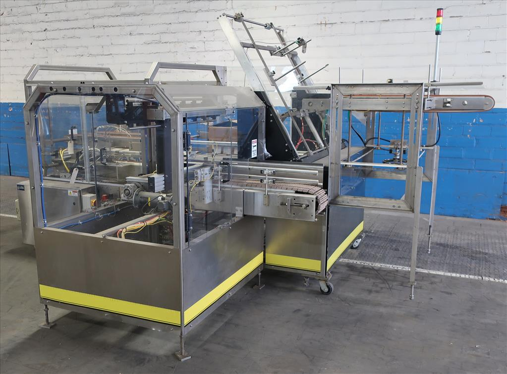 Case Packer Econocorp, Inc side-load case packer model Econocaser, up to 600 cartons per hour3