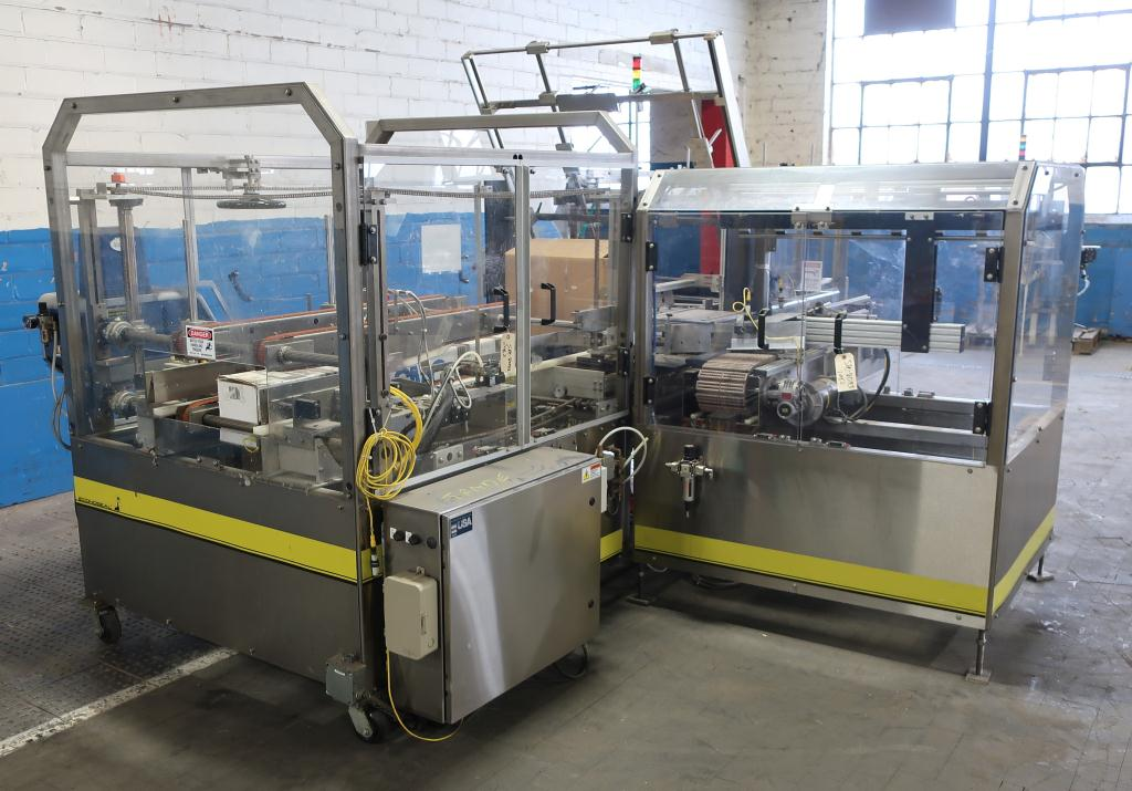 Case Packer Econocorp, Inc side-load case packer model Econocaser, up to 600 cartons per hour4
