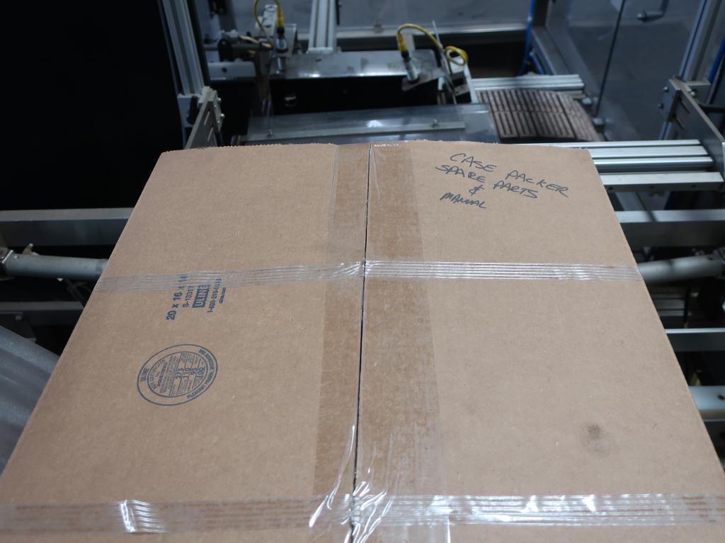 Case Packer Econocorp, Inc side-load case packer model Econocaser, up to 600 cartons per hour12