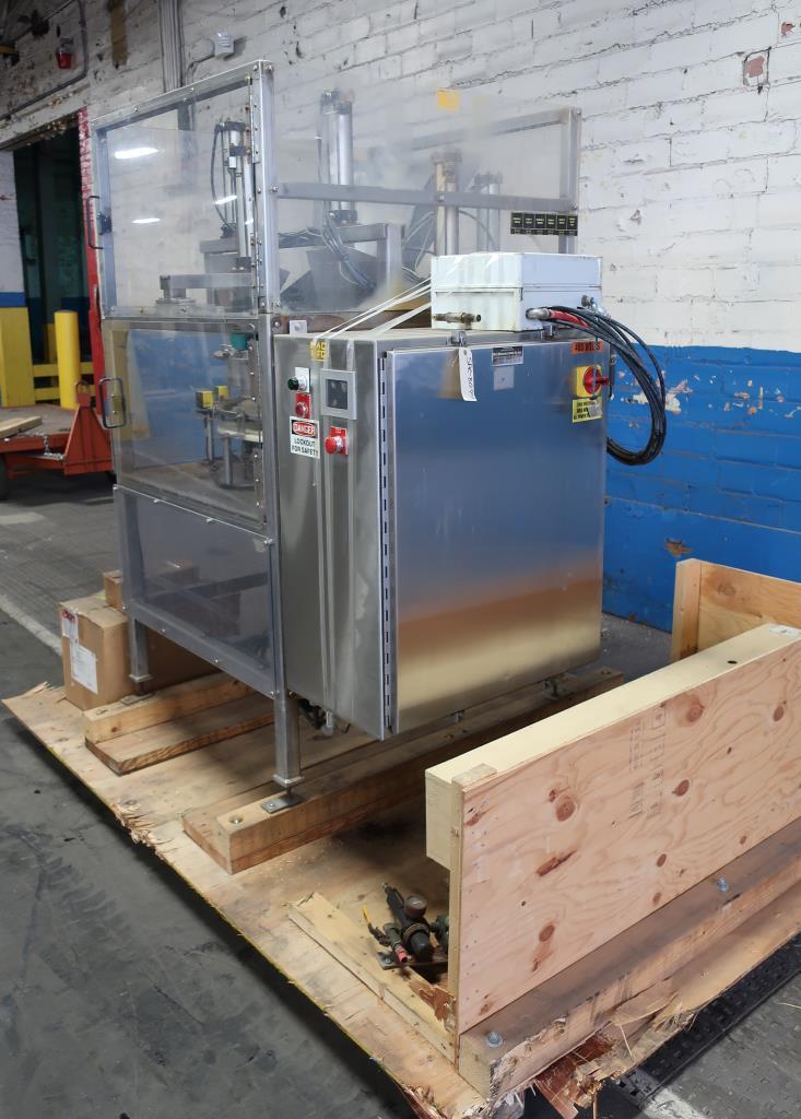 Filler 4 Tamp Cylinders filling tubes Mac Manufacturing volumetric filler model SSRF 101, 5000 RPM max3