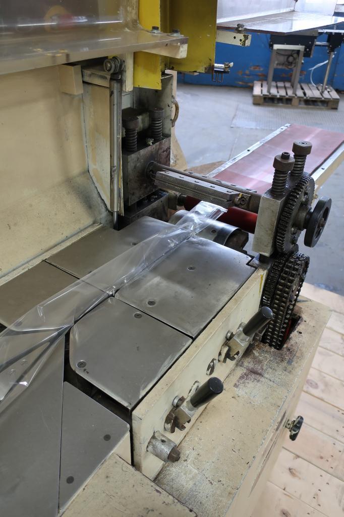 Wrapper Record horizontal flow wrapping machine model Panda, 7.5 lug spacing5