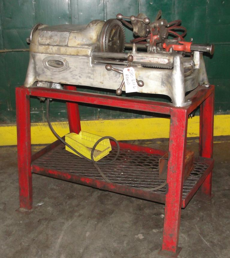 Machine Tool Ridgid model 535, 1- 2 capacity1