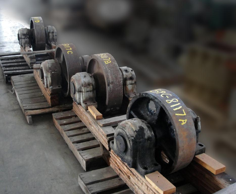 Miscellaneous Equipment (4)trunnions, 24dia.x 6face, CS1