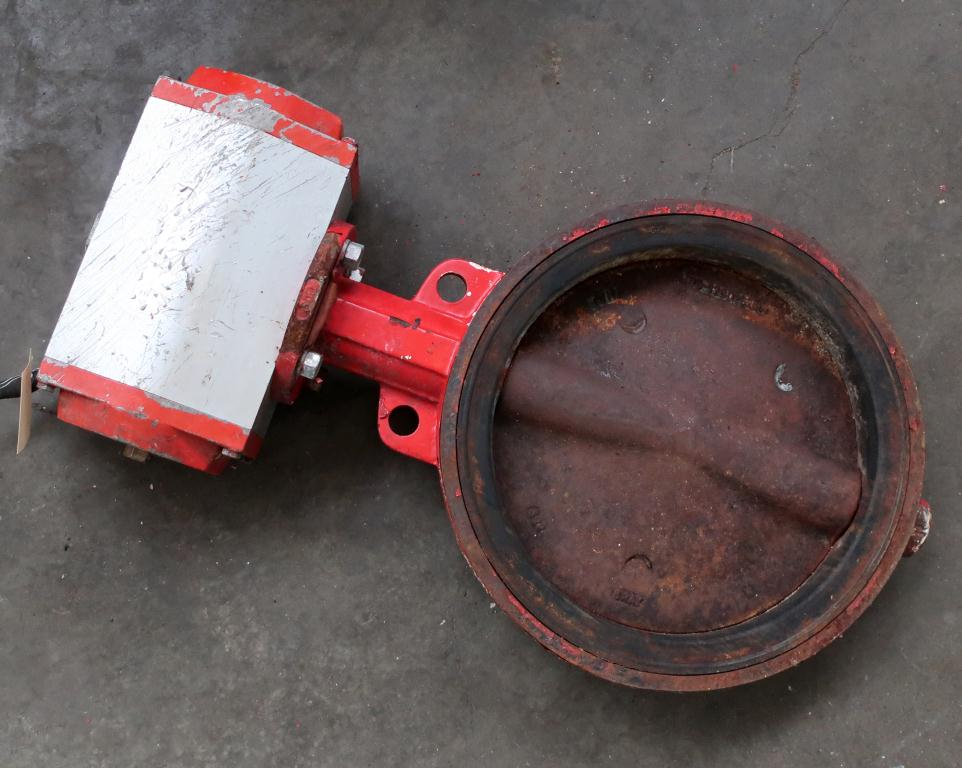 Valve 12 BRAY butterfly valve CS, pneumatic operator1