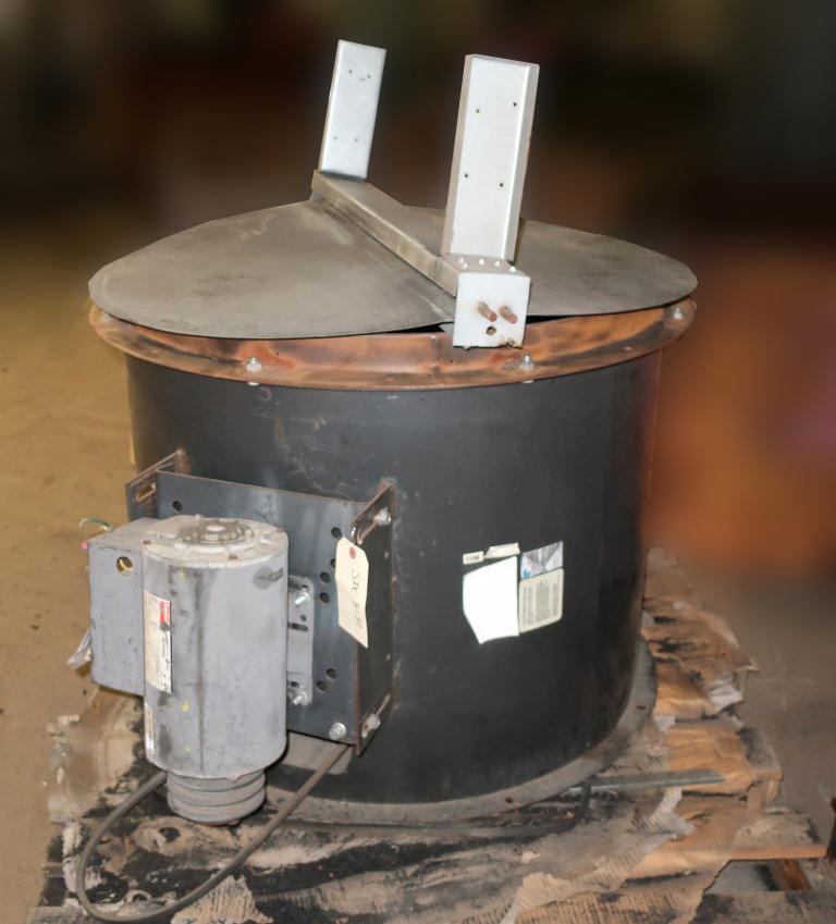 Blower axial blower 30 dia. 2 hp, CS, butterfly style rain lid5