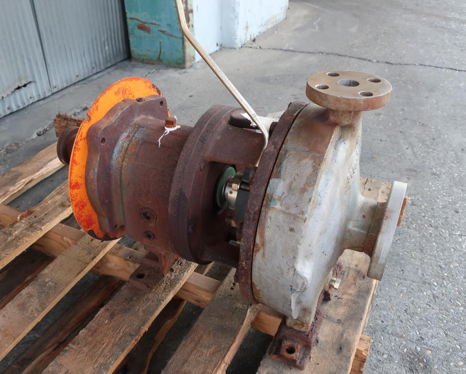 Pump 1 x 2 - 11 Goulds centrifugal pump, Stainless Steel1