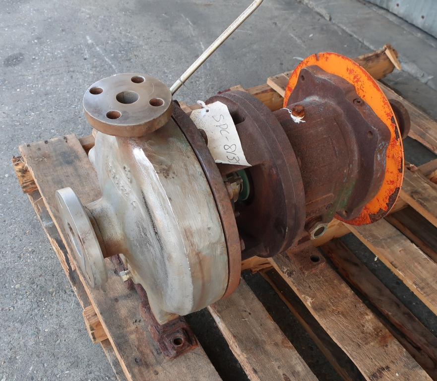 Pump 1 x 2 - 11 Goulds centrifugal pump, Stainless Steel2