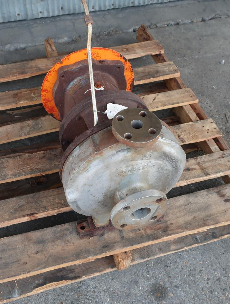 Pump 1 x 2 - 11 Goulds centrifugal pump, Stainless Steel4