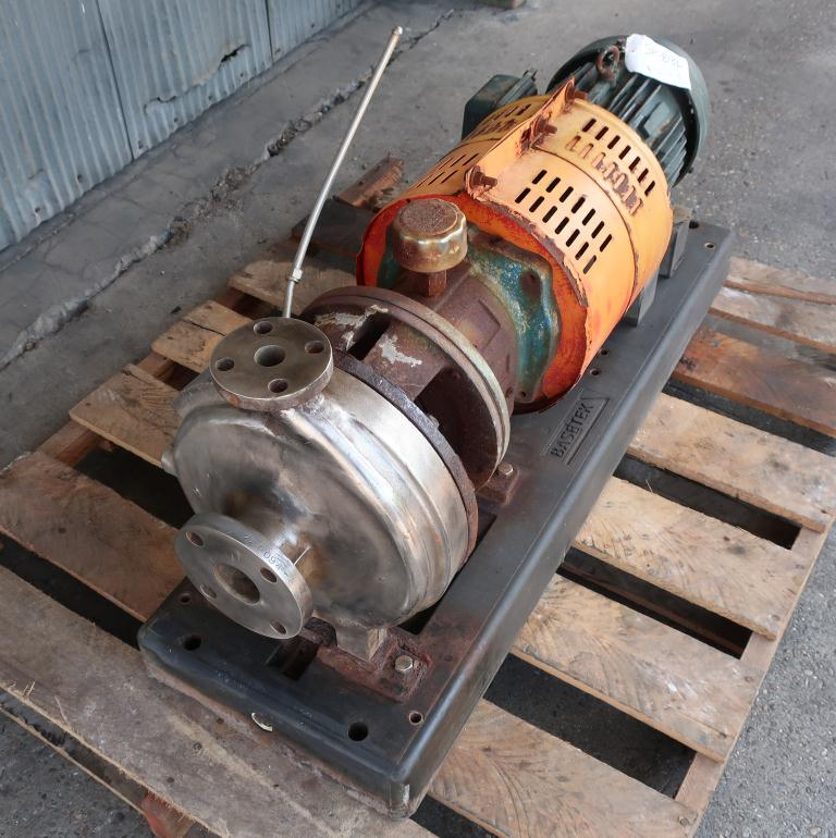 Pump 1x2x11 Goulds centrifugal pump, 5 hp, Stainless Steel2