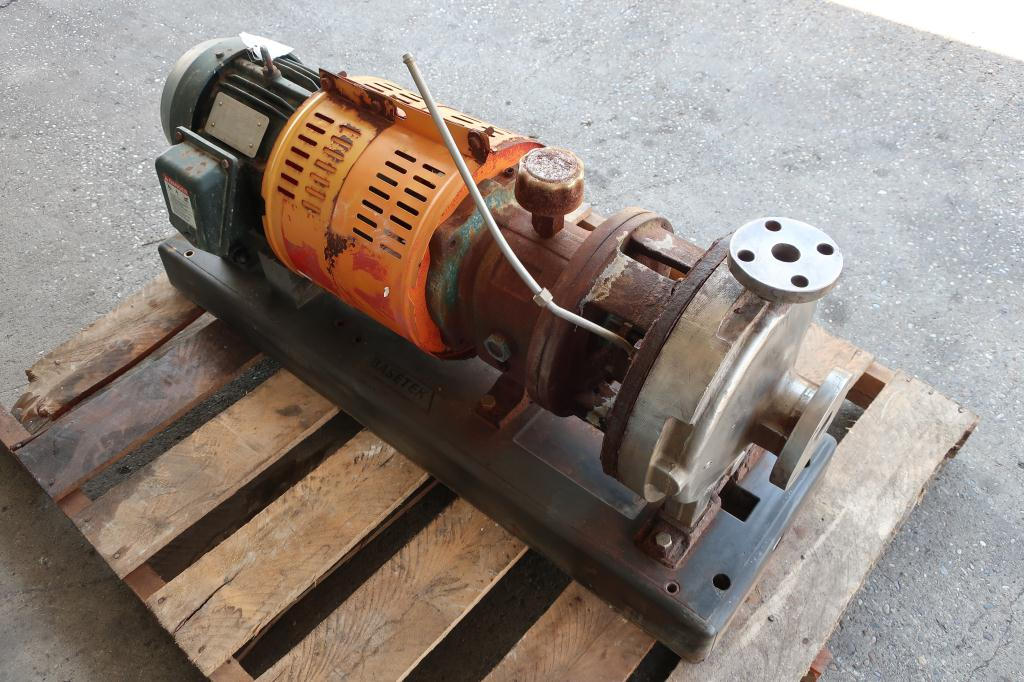 Pump 1x2x11 Goulds centrifugal pump, 5 hp, Stainless Steel3